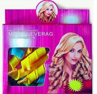 Wholesale DIY MAGIC LEVERAG Magic Hair Curler Roller Magic Circle Hair Styling Rollers Curlers Leverag perm with package package