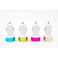 bargain iphone - Dc V Bel Kin Colourful High Quality Dual Port Usb Car Charger for iPhone for iPad Mobile Phone Pad New Pattern Bargain Price