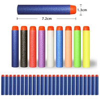 Wholesale New Outdoor Play Nerf N strike Elite Rampage Retaliator Series Blasters Refill Clip Darts electric toy gun soft nerf bullet color