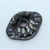 tube amplifier - 10PCS Generic Plastic PIN Tube Sockets FR EL156 EZ150 AZ11 AZ12 EF12 EF14 EL12 fr coat el156 tube el156 tube