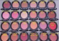 Wholesale New Makeup Powder Shimmer Blush colors No mirrors no brush G GIFT