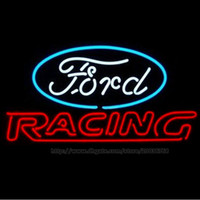 advertisement games - Neon Sign Ford Racing Real Glass Car Truck Store Advertisement Repair Game Sport Garage Display Neon Signs quot x15 quot