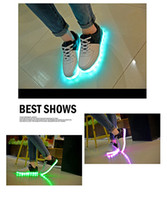 Wholesale 2016 fashion most popular LED Light Shoes sport attractive LED Light Up Shoes
