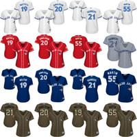 Cheap Baseball Jose Bautista jersey Best Women Short Toronto Blue Jays jersey