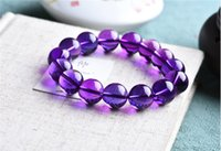 South American beaded clean - 2017 Hot Sale CM Clean Deep Color Natural Amethyst Crystal Bracelet For Women Make in Brazi collectible Gems