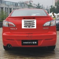 Wholesale Totry MAZDA m3 car stickers brake lights refires carbon fiber brake lights