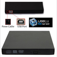 Wholesale External High speed DVD burner USB x x DVDRW DL DVD CD RW ROM Burner Writer Drive Optical All PC High Quality COMBO DHL Federal free