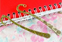 Wholesale A3453 MM Antique bronze alloy Metal small flower hairpins vintage tibetan hair jewelry accessories diy hairwear bookmark hair sticks