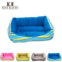 Wholesale Brand Dog House New Pets Beds Fashion Soft Puppy Dog House High Quality PP Cotton Pet Beds For Small Pets Products Cats HP346
