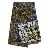 ankara material - Cherry Lady African Wax Lace Fabric High Quality For Wedding Dress Nigerian Ankara Materials French Net Lace Wax Fabric