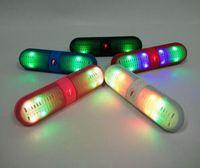 Mini altoparlante Bluetooth BT808L senza fili Altoparlanti LED auto luce vivavoce Chiamata subwoofer MP3 Player per iPhone 6 5 Samsung S6 Nota5 Phone