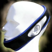Wholesale Stop Snorin Snoring Chin Strap Anti Snore Belt Anti Apnea Jaw Solution Sleep TMJ Support Hot New