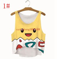 Wholesale Women Poke Crop TopTanks Summer Fashion Camis Clothing U Neck Casual Elastic Vest Tops styles