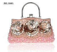Wholesale 2pcs New arrival evening bags Clutch bags single shoulder bags party Lady s handbag purse