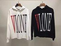 austria quality - New Fashion Men Women Hoodies Vlone1 high quality cotton hoodie Austria skateboard hip hop hoodies homeless Vlone