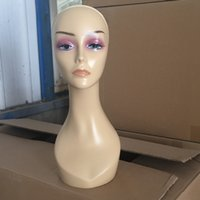 Wholesale Mannequin Head Realistic Female Mannequin Head Manikin Head Women Mannequins Makeup for Sale