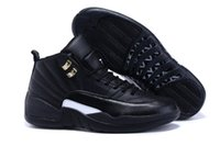 army boxes - High Quality s Basketball Shoes Men Flu Game French12s The Master Gym Red Taxi Playoffs Shoes With Box