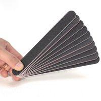 Wholesale 5 x Nail Art Sanding Shiner Files Buffer Straight Grit Sanding Sandpaper Black Red