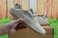 Cheap Adidas Yeezy Boots 350 Men Women Running Shoes Yeezys Boost Cheap 2016 Hot Sale Sports Shoes Oxford Tan Size 5-11.5 With Box