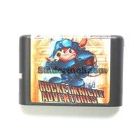 adventure driving - DC MD SS SEGA Memery Cards Rocket Knight Adventures bit MD Game Card For Sega Mega Drive For Genesis