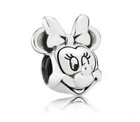 al por mayor hacer 925 pulsera de plata-HYWo 925 Sterling Silver encanto europeo Negro cristal espaciador perlas Fit Pandora serpiente cadena pulsera mujer DIY joyas hacer al por mayor