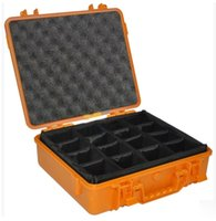 Wholesale Tool case toolbox Impact resistant sealed waterproof safe case cm security Instrument camera box with Foma lining