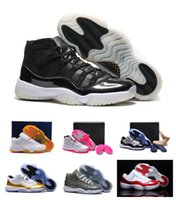 Wholesale Sport Shoes Discount China - Hot Sale 2016 China XI Retro 11 Basketball Shoes New Athletic Men's Sport Shoes Discount Low Cut Leather Mens Sneakers Free Shipping