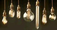 Wholesale Edison light bulb filament bulb transparent big restoring E27 screw adornment w E14 creative incandescent light source commercial lighting