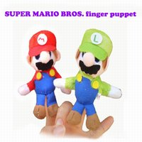 Wholesale Puppet Christmas toys In Stock Unisex Toy Finger Puppets Finger Animals Toys Cute Cartoon Children s Toy Stuffed Animals Toys