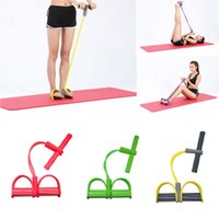 Wholesale Hot Resistance Band Tubes Gym Pedal Exerciser Yoga Fitness Pilates Elastic Pull Rope Workout Sports Training Equipment