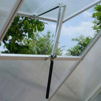aluminum greenhouses - ALUMINUM Thermofor Non electric solar powered automatic greenhouse window roof vent opener Useful