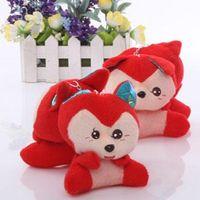 Wholesale Small Animal Plush Toy Doll Accessories Cartoon Key Chain Wedding Gifts Many Styles Of Random Shipment