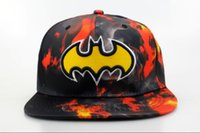 ball america - 201New Arrival MARVEL Comics DGK kids Snapbacks The Avengers Batman Superman Captain America kids Caps USA Australia UK Malaysia Singpore