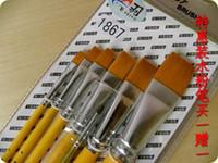 Wholesale nylon watercolor acroleic crystallise pen set art supplies