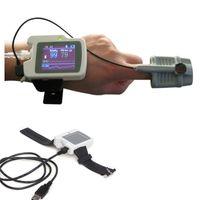 air flow monitor - RS01 Wearable Obstructive Sleep Apnea Symptoms Monitor PR SPO2 Rhino Anemometer respiration Nose air flow monitor
