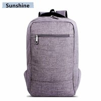 Wholesale 2016 Men and Women Are Pure Computer Backpack Outdoor Sports Travel Bag Bag