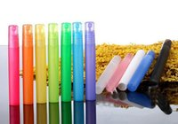 Wholesale 10ml Colorful Frosted Plastic Tube Empty Refillable Atomizer Perfume Bottles Spray for Travel and Gift By DHL