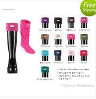 Wholesale New Fashion Hunters Socks fleece warm soft hunter stockings over knee high Washton socks size M L Factory Price
