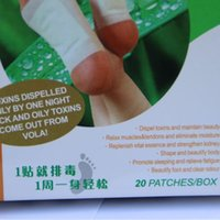Wholesale 10 Box Feet Care Toxin Patches Feet Detox Pads Promoting Blood Circulation Metabolism Foot Patches Cleanse Your Body Waste