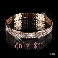 beautiful cheap weddings - 15014 Beautiful Wedding Bracelets Bridal Jewelry Gold Plated Bangle Cheap on Sale In Stock