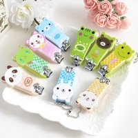 Wholesale Cartoon Baby Nail Clipper Cute Infant Finger Trimmer Scissors Baby Nail Care with Hanging Function Piece