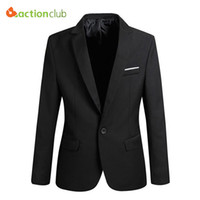 Wholesale New Arrival Men Suit Jacket Casaco Terno Masculino Blazer Cardigan Jaqueta Wedding Suits Jacket Men Size S XL Super Plus Size