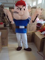 adult popeye costume - Mascot Costume Adult Character Costume mascot As fashion freeshipping Popeye the sailor man