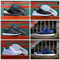 Wholesale 2016 New Ultra Boost Uncaged Hypebeast Primeknit Black white ultraboost Mens Running Shoes men Sport Shoes Sneakers