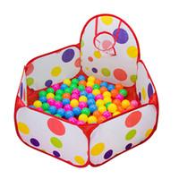 Wholesale Best seller Pop up Hexagon Dot Children Ball Play Pool Tent Carry Toy Jun20