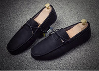 autumn spring apartments - Autumn and winter hot style leisure apartment of England men s shoes men driving and cotton cotton men s shoes