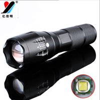 Wholesale Flashlight Military Grade Flashlight with Light Modes Water Resistant Flashlight Lamp Torch T6 Moving Lamp G700
