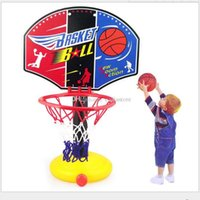 Wholesale Children Mini Basketball Portable Outdoor Adjustable Sport Hoop Play Set MS A00074 FASH