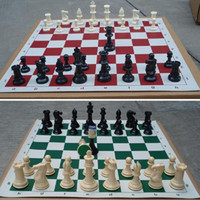 big chess sets - of Medieval Chess Pieces Plastic Weighted Full Complete Chess Set A00011 SMAD