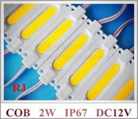 Wholesale injection COB LED module light waterproof LED back light backlight DC12V W led COB IP67 CE ROHS mm mm mm aluminum ABS